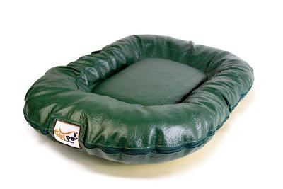 Hundekissen Luxury grün
