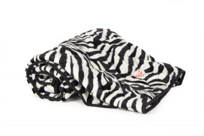 Kuscheldecke soft Zebra
