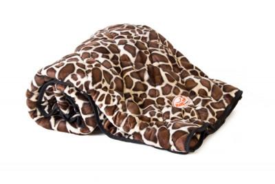 Kuscheldecke soft Giraffe