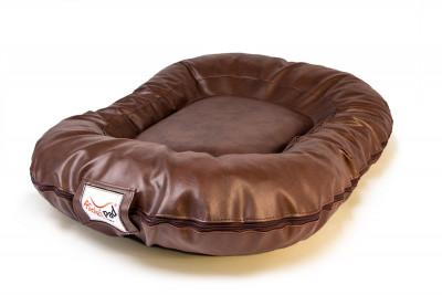 Hundekissen Luxury dunkelbraun
